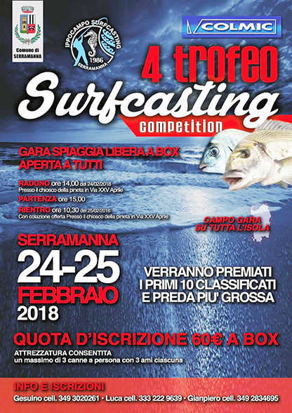 Surfcasting Competition 2017