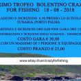 1° Trofeo di Bolentino Crazy For Fishing