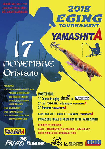 Eging Tournament a Oristano